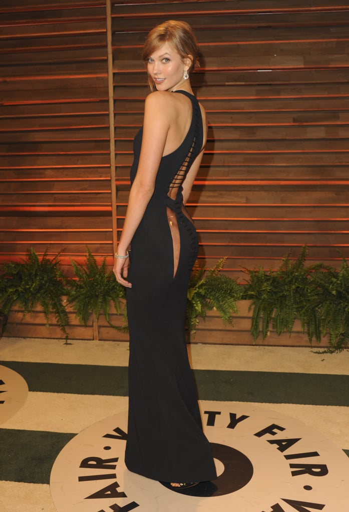 Karlie Kloss at the 2014 Vanity Fair Oscars Party