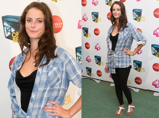 Photos of Kaya Scodelario at T4 on the Beach 2010