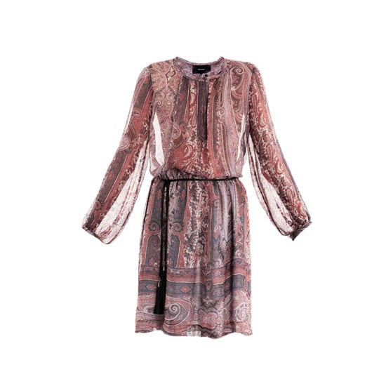 Confession time: My name is Ali and I'm a closet hippy. I'm going to try to resist trends in 2013 and stay truer to my own aesthetic = a little less mod-minimal and a little more boho. Watch out Sienna! — Ali, FabSugar editor Dress, approx $1,178, Isabel Marant at Matches