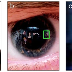 Criminals Identified by Eye Reflections