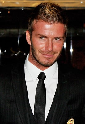 David Beckham to Launch Menswear Line Under DVB Label