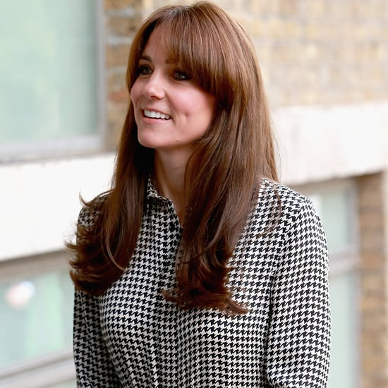 Kate Middleton Wearing Ralph Lauren Houndstooth Dress
