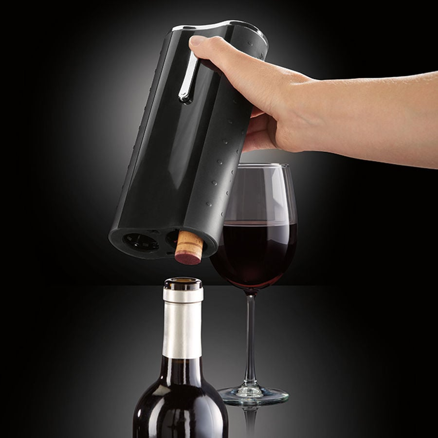 Automatic Wine Opener With Foil Cutter