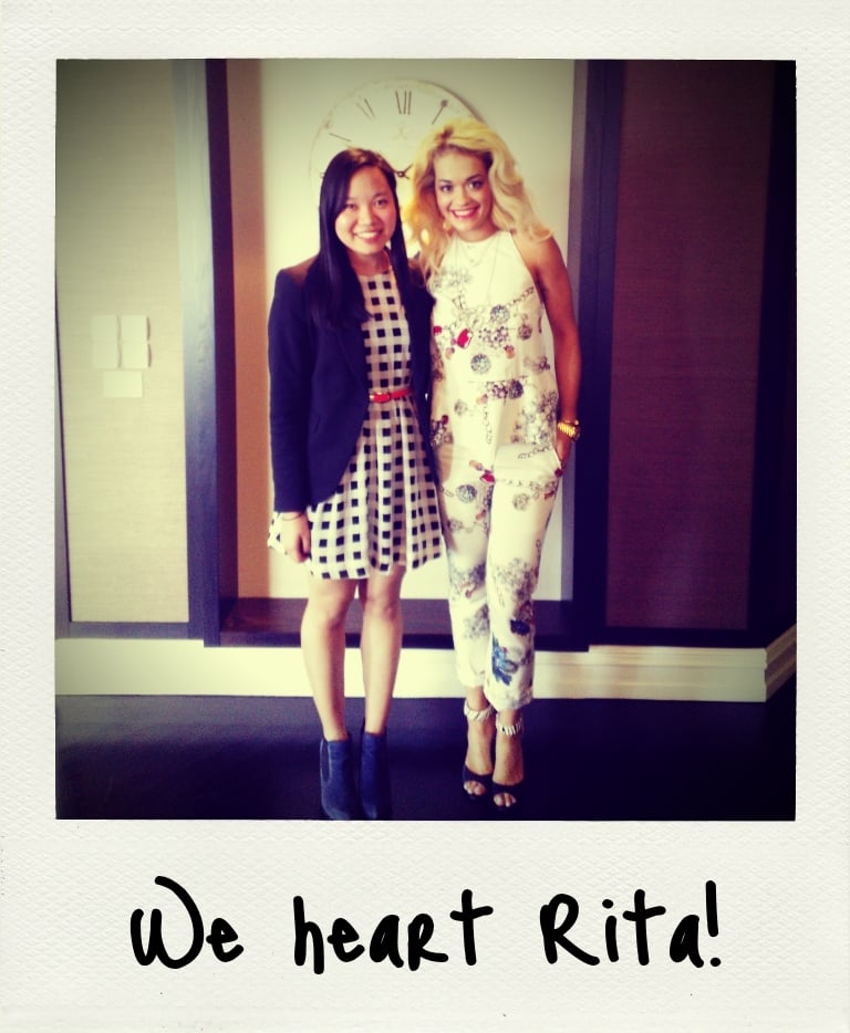 Jess and Rita Ora bonded over Nokia phones and Modern Family at the Four Seasons in Sydney recently.