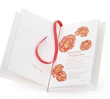 Simple Booklet Invite