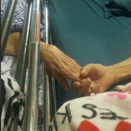 Elderly Couple Dies Holding Hands