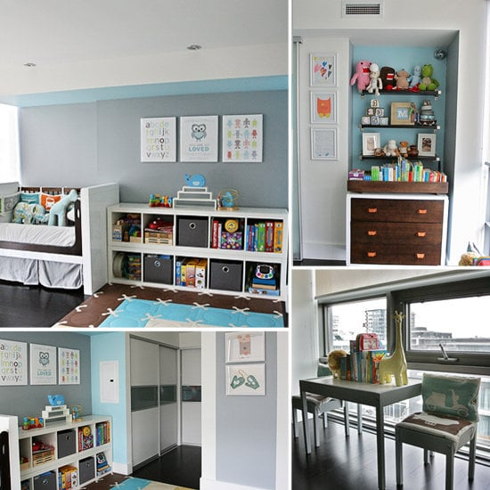 Futuristic Styling in a Modern Toddler Room
