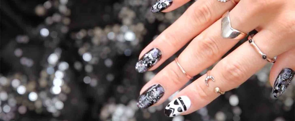 The Force Is Fierce With This Star Wars Stormtrooper Nail Art Tutorial