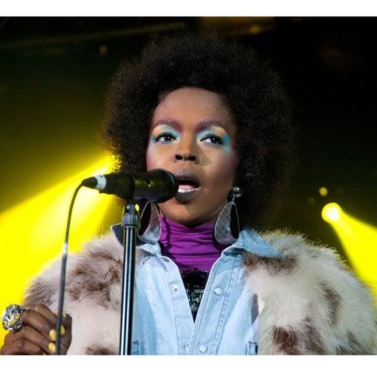 Lauryn Hill's Daring Park City Makeup Look