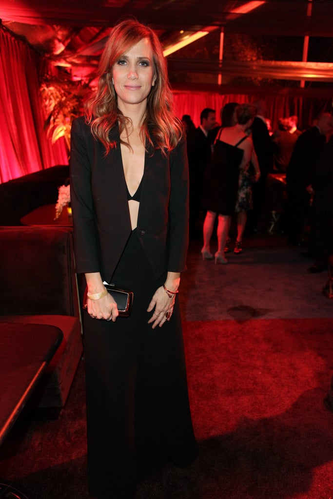 Kristen Wiig looked sleek as she made the afterparty rounds Sunday evening.