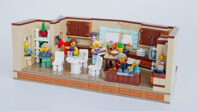 Lego Golden Girls Kitchen