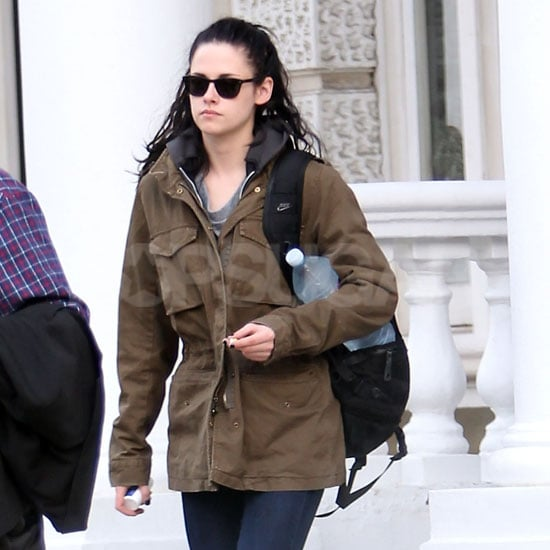 Kristen Stewart up early in London.