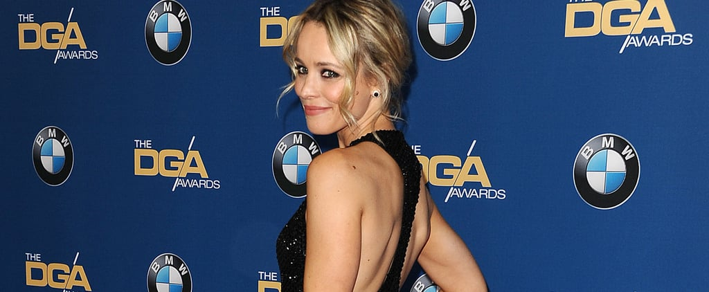 Rachel McAdams Is Clearly Having the Time of Her Life in This Gorgeous Gown