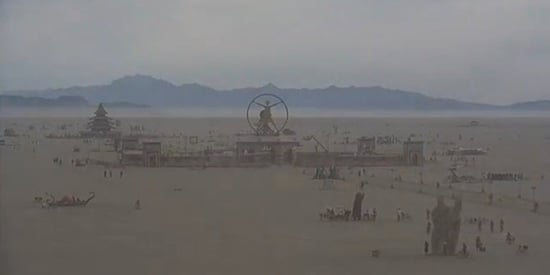 Burning Man Live-Stream Lets You Look Upon A Dystopian Hellscape