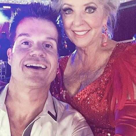 Paula Deen Dancing With the Stars Selfie
