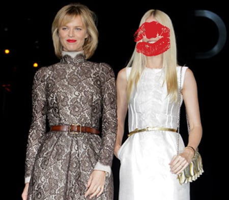 Celebrity Photo Quiz: Which Blonde Supermodel is At Dolce & Gabbana Fashion Show at Milan Fashion Week With Eva Herzigova?