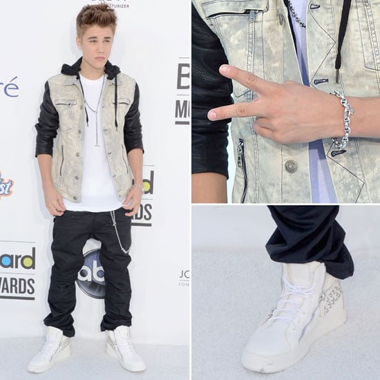 Pictures of Justin Bieber on the Red Carpet for the 2012 Billboard Music Awards: Thoughts?