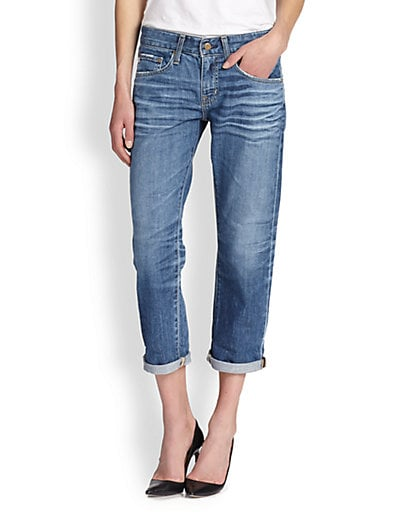 AG Adriano Goldschmied Cropped Jeans