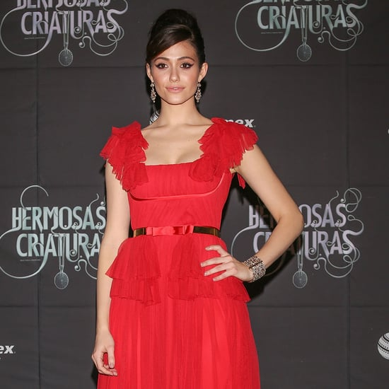 Emmy Rossum Beautiful Creatures Red Carpet Pictures