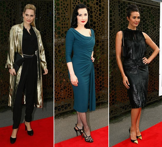 Pictures of Megan Gale, Dita Von Teese and More at 2012 L'Oreal Melbourne Fashion Festival Opening Night