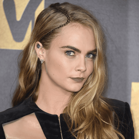 Cara Delevingne's Hair and Makeup at 2016 MTV Movie Awards