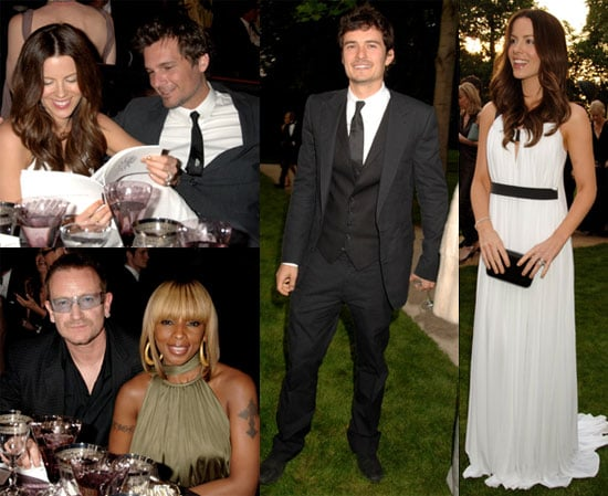 Images of Celebrities at Raisa Gorbachev Foundation party in London