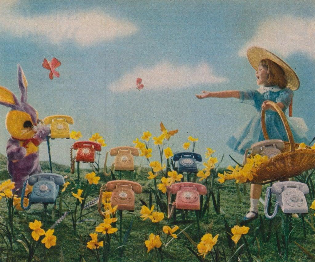 Look, mommy! It's a nightmarish Easter bunny!