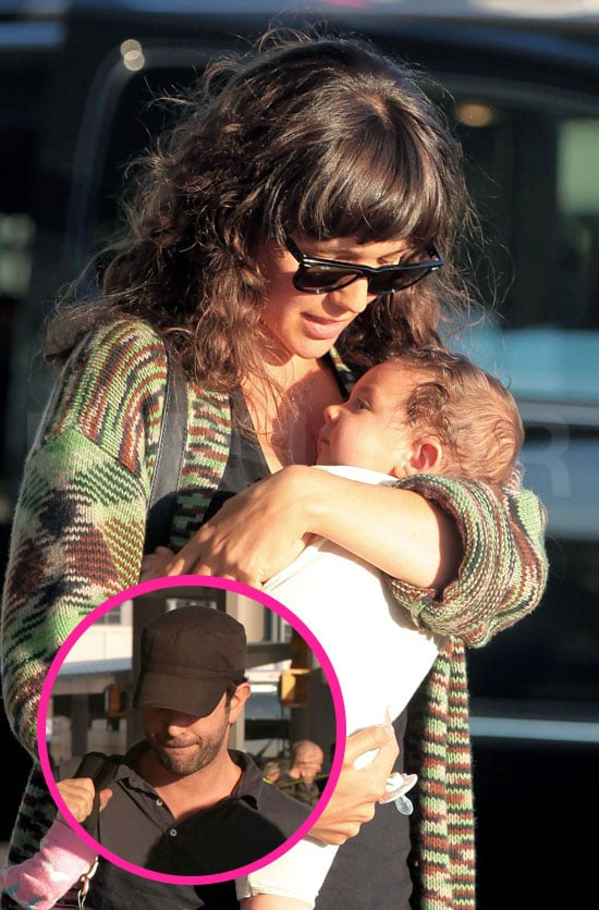 David Schwimmer and Wife Zoe Buckman Take Baby Cleo on Her First Summer Vacation