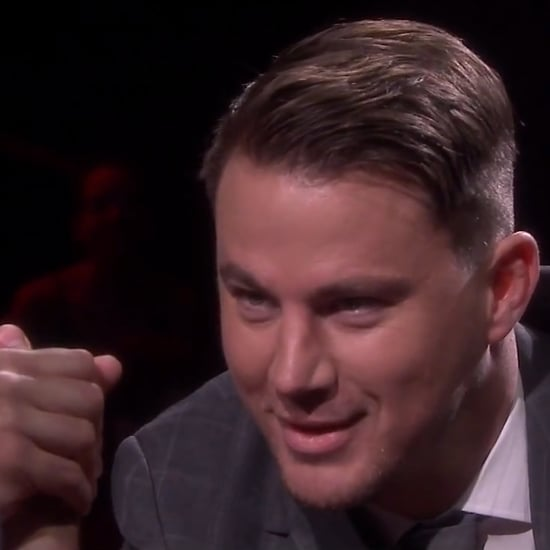 Channing Tatum and Jimmy Fallon Arm Wrestle — Find Out Who Wins!