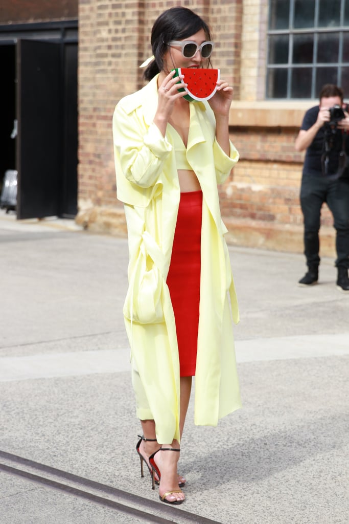 Does your wardrobe make you want to snore? Try mixing unexpected colour combinations to breath life into your look. Nicole Warne's pick? Lemon yellow and true red.
