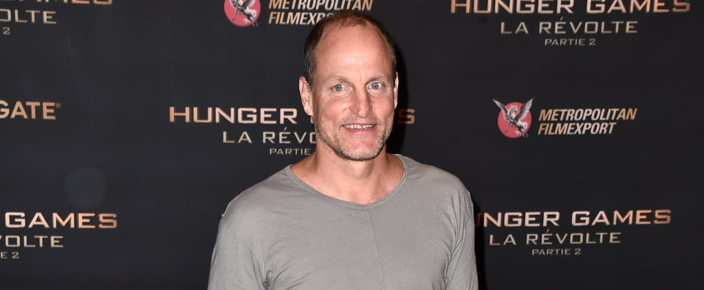 Woody Harrelson Shows Up to the Hunger Games Photocall in Pajamas