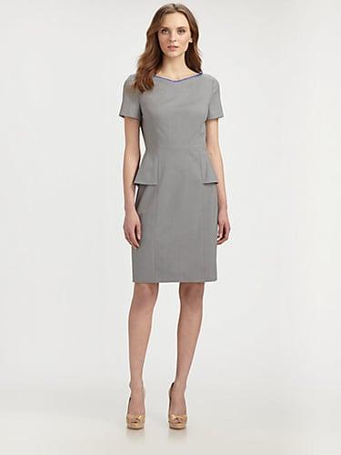 Elie Tahari Sybil Peplum Dress