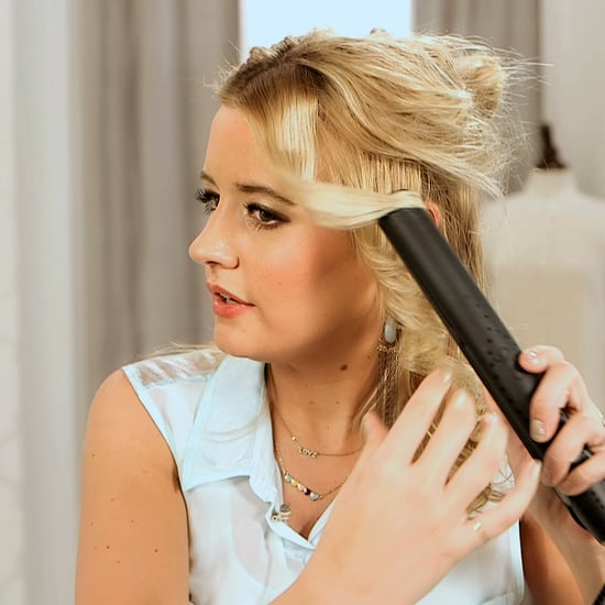 How to Curl Hair With a Flat Iron | Video Tutorial