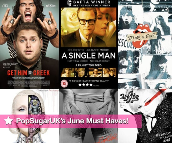 PopSugarUK's Must Haves of Films, DVDs, Books and CDs Released in June 2010 Including Get Him to the Greek, Uffie and More
