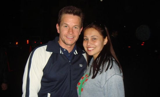 Celebrity Sighting: Mark Wahlberg Short and Sweet