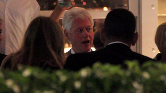 Video: Bill Clinton's Wild Night Out With Cameron and ARod!