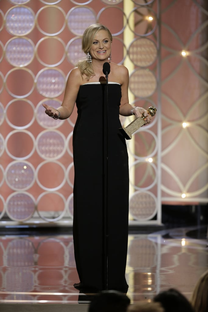 """""""I never win, so I can't believe I won."""" — Amy, who finally won for Parks and Recreation."""