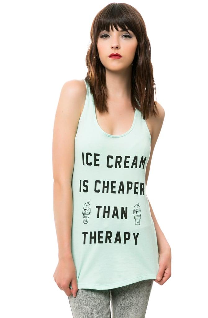 Pyknic Ice Cream Therapy Tank