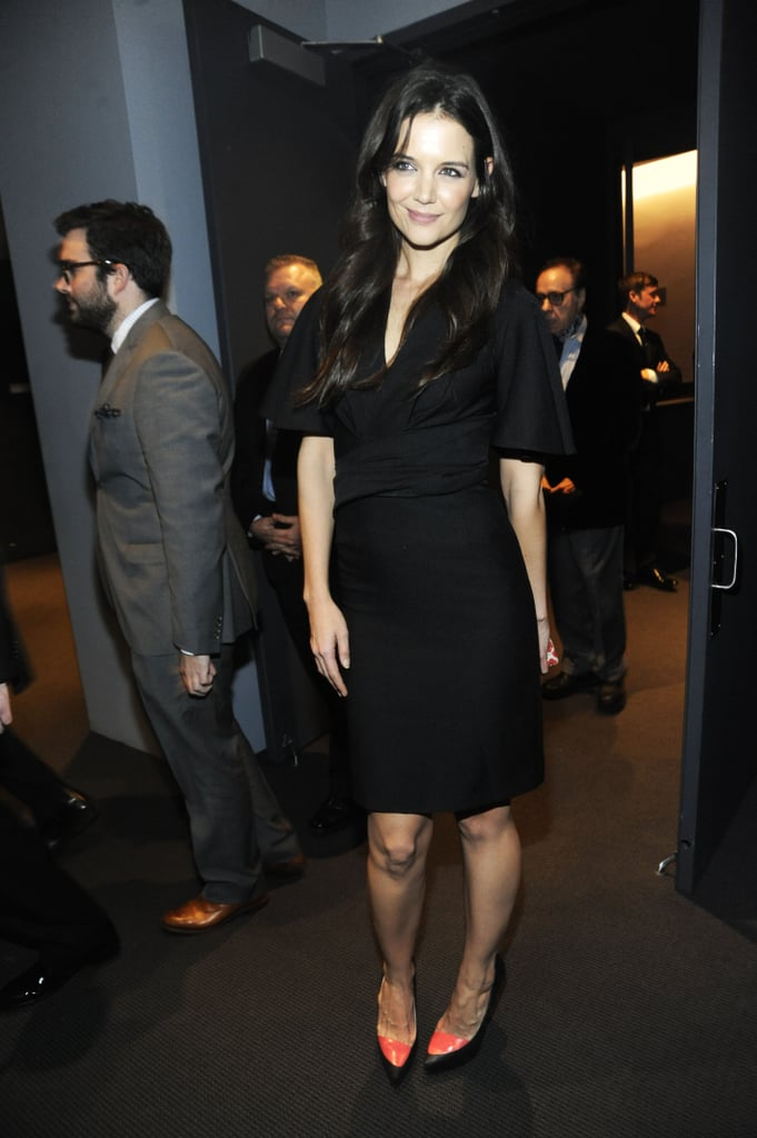Katie Holmes attended the Museum of Modern Art Film Benefit in NYC.