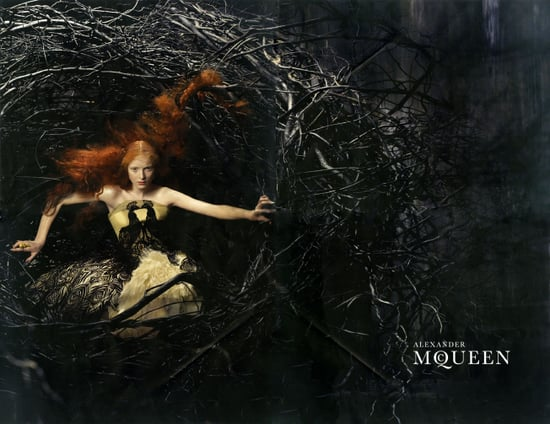 Alexander McQueen's Avian Alice Gibb for Fall 2008