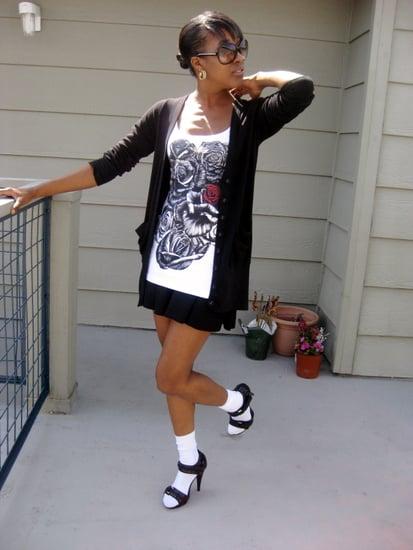 Socks & Heels ~ I like it! :)