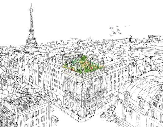 New Hermès Jardin Sur Le Toit Perfume Smells Like a City Summer 2011-04-03 06:10:00