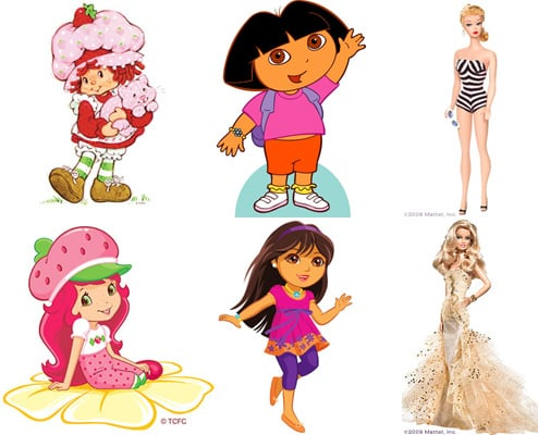 Do Kiddie Characters Really Need Makeovers?