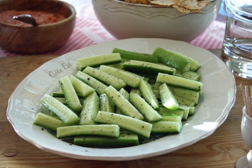 Cucumbers, Lime, and Pepper