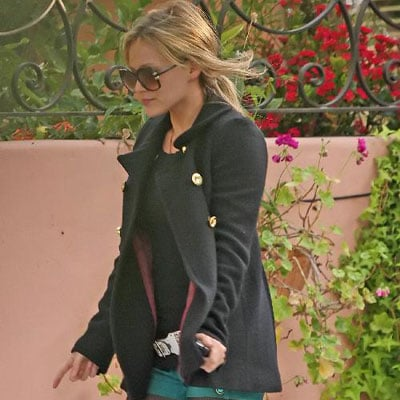Hilary Duff Out in LA on January 9 2008