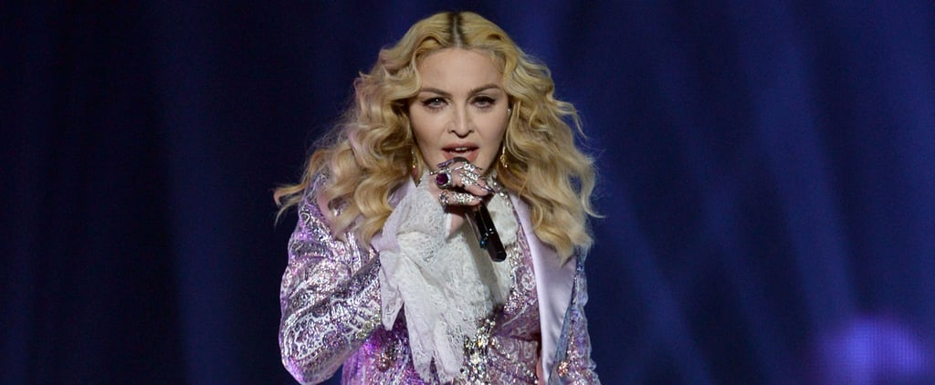 Nothing Compares to Madonna's Sparkly Purple Prince Suit