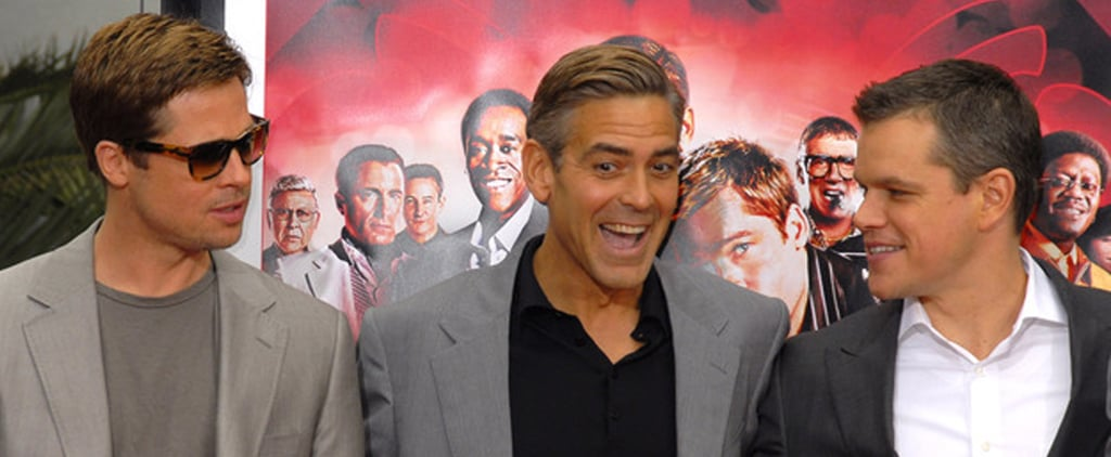 Clooney Punks Brad, Matt, Amy, and Tina — See His Best Pranks!