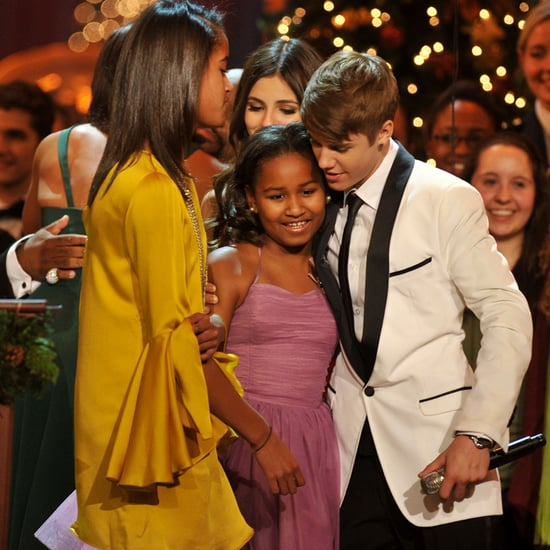 Malia and Sasha Obama's Pictures With Celebrities