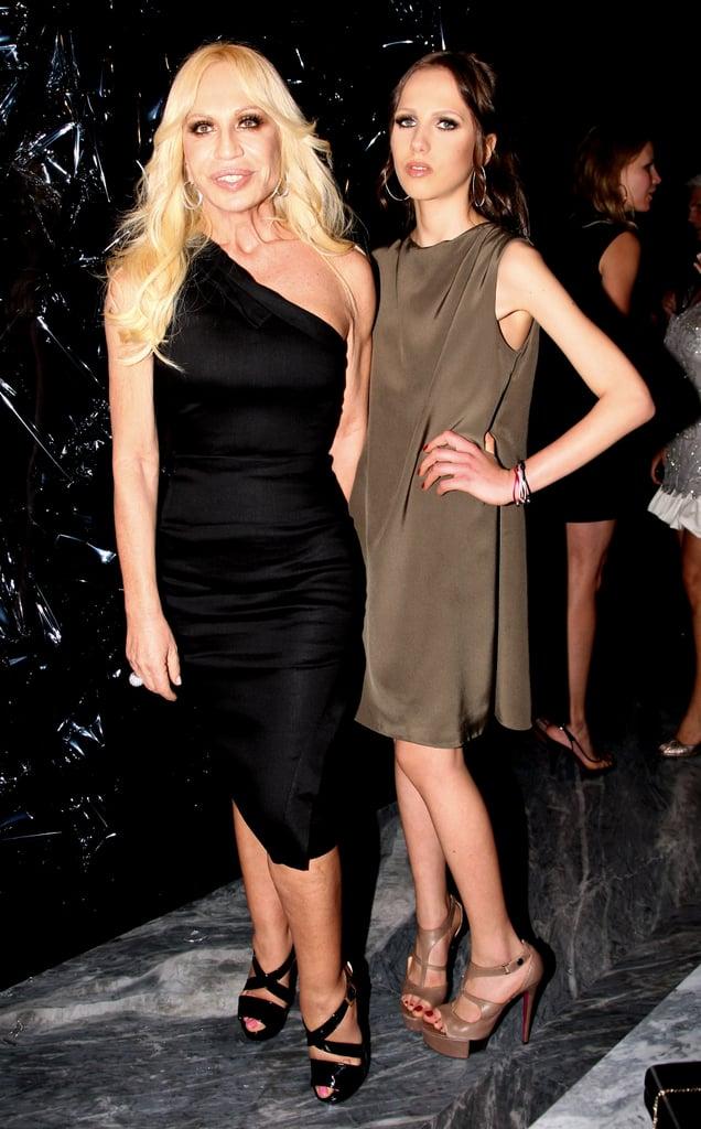 Donatella Versace, Allegra Beck Versace