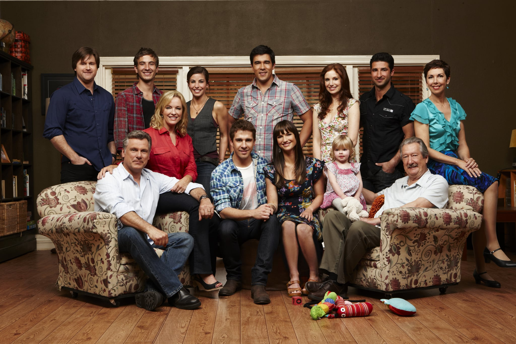 Packed to the Rafters (TV Series 2008–2013) - Full Cast ...